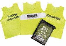 Derbystar Markierungshemden 10er-Set Junior gelb