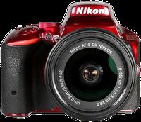 Nikon D5500 Kit 18-55 mm [Nikon VR II] (rot)