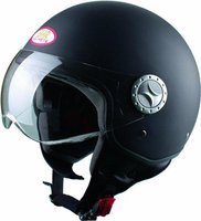 BHR Helmets Fashion matt schwarz