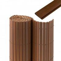 Jarolift Premium Sichtschutzmatte PVC mit Abdeckprofil BxH: 300 x 100 cm