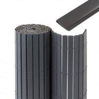 Jarolift Premium Sichtschutzmatte PVC mit Abdeckprofil BxH: 800 x 90 cm