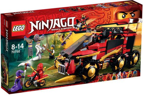 LEGO Ninjago - Mobile Ninja-Basis (70750)