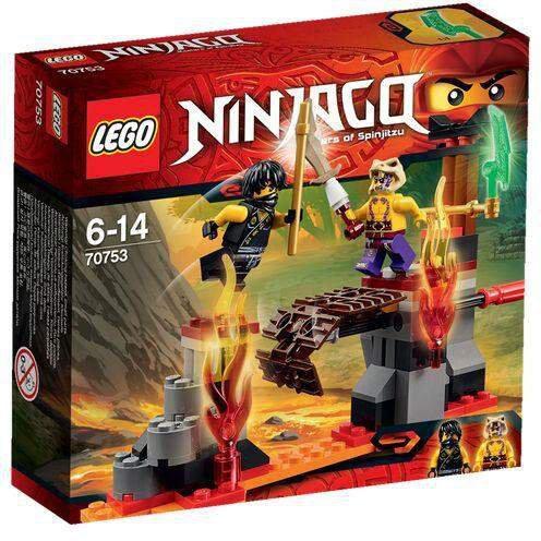 LEGO Ninjago - Lava Fälle (70753)