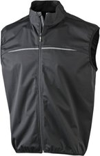 James & Nicholson Damen Softshell Radweste (JN456) black