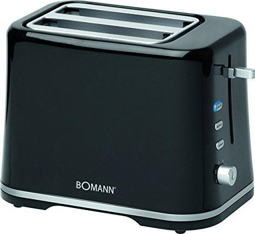 Bomann TA 1577 CB Schwarz/Silber