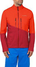 Vaude Men's Tremalzo Rain Jacket glowing red