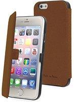 Muvit Made In Paris Slim Folio Case braun (iPhone 6)