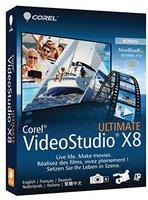 Corel VideoStudio Pro X8 Ultimate (DE) (Win)