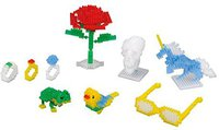 Kawada Puzzle 3D Clear Color Set