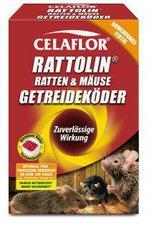 Celaflor Rattolin Ratten und Mäuse Getreideköder 500 g