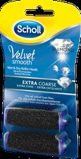 Scholl Scholl Velvet Smooth Express Pedi mit Diamantpartikeln Ersatzrollen (2 Stk. Extra Stark)