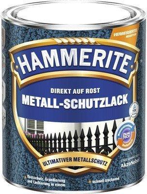 Hammerite Metall-Schutzlack Hammerschlag 750 ml silbergrau