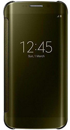 Samsung Clear View Cover gold (Galaxy S6 Edge)