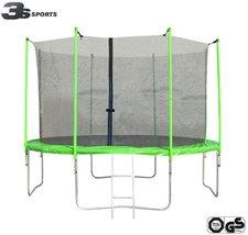 3s-sports Trampolin 366 cm mit Sicherheitsnetz