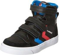 Hummel Stadil Leather High Jr black/blue/red