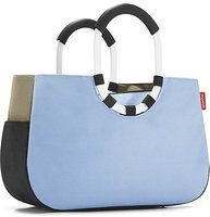 Reisenthel Loopshopper M patchwork pastel blue