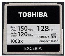 Toshiba Exceria CompactFlash 128GB 1000x (CF-128GTGI8)