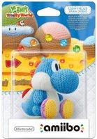 Nintendo amiibo: Yoshi's Woolly World Collection - hellblauer Woll-Yoshi
