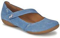 Clarks Felicia Plum mid blue