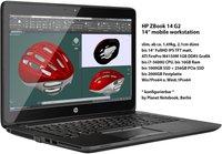 Hewlett Packard HP ZBook 14 G2 (J8Z81ET)
