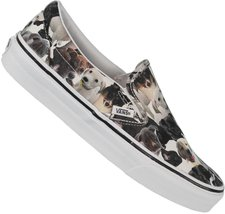 Vans Slip-On ASPCA puppies/true white