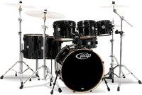 Pacific Drums & Percussion Concept Maple Pearlescent Black (CM7)