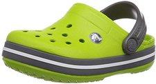 Crocs Kids Crocband volt green/graphite