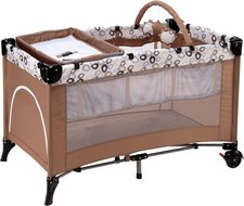 Baby-Plus Lucca Center Dark Brown/Circle