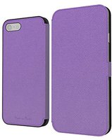 Muvit Made In Paris Slim Folio Case violett (iPhone 6 Plus)