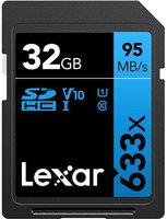Lexar Professional 633x SD 32 GB (LSD32GCBEU633)