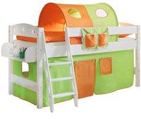 Ticaa Hochbett Kenny - orange/grün