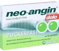 Klosterfrau Neo Angin Benzocain Dolo Zuckerfrei (12 Stk.)