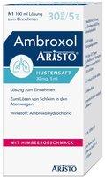 Aristo Pharma Ambroxol Aristo Hustensaft 30 mg/5 ml Lösung zum Einnehmen (100 ml)