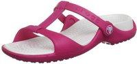 Crocs Cleo III poppy/platinum