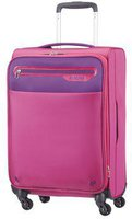 American Tourister Lightway Spinner 55 cm expandable pink/purple