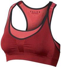 Falke Bra-Top Cross Back Medium Support cranberry