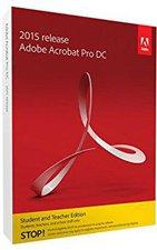 Adobe Acrobat Pro DC 2015 (EDU) (Upgrade) (Mac) (EN) (Box)