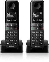 Philips D4502 Duo schwarz