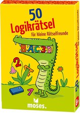 Moses 50 Logikrätsel für kleine Rätselfreunde