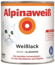Alpina Farben Alpinaweiß Weißlack 2 l glänzend