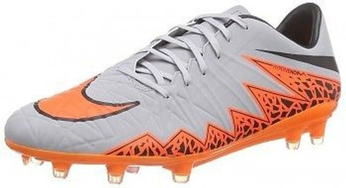 Nike Hypervenom Phatal II FG wolf grey/black/total orange low