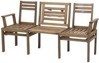 Siena Garden Modular Duo-Klappbank 3-Sitzer (Akazie)