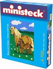 Ministeck Pferd mit Fohlen
