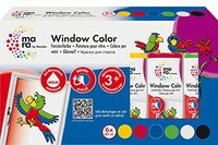 Marabu Mara Window Color 80 ml, 6er-Set