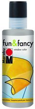 Marabu Fun & Fancy Window Color 80 ml, Konturen silber