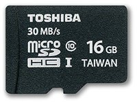 Toshiba High Speed Professional microSDHC 16 GB (SD-C016UHS1-6A)