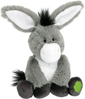 Nici Selection - Esel 20 cm sitzend mit gesticktem Kleeblatt
