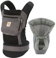 Ergobaby Carrier Performance - von Geburt an Paket - Charcoal Black