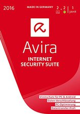 Avira Internet Security Suite 2016 (2 User) (DE) (Win) (Box)