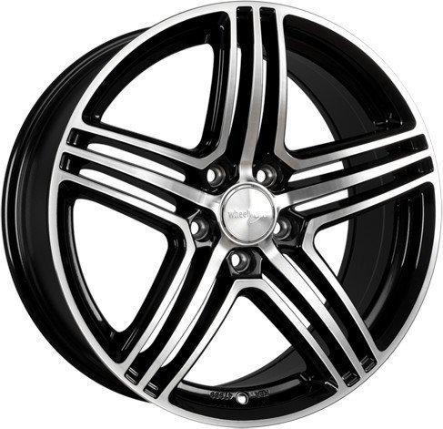 Wheelworld WH12 (8x19) schwarz hochglanzpoliert